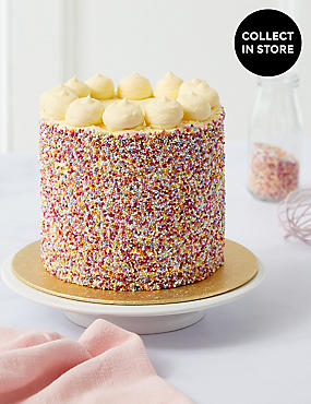 Rainbow Layers Cake (Serves 12)