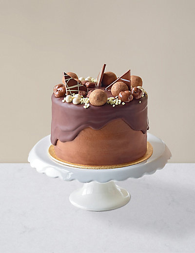 Marks And Spencer White Chocolate Birthday Cake
