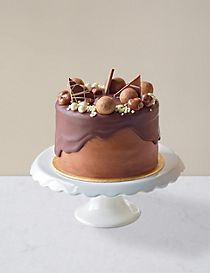 Chocolate & Caramel Dribble Cake