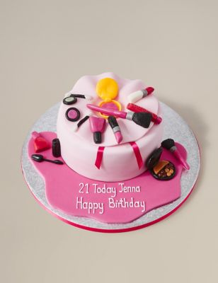 Make Up Bag Cake Serves 25 MS