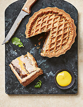 From The Deli Handcrafted Ploughman's Pork Pie with Red Leicester Cheese