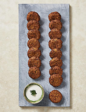 16 Sweet Potato Falafels
