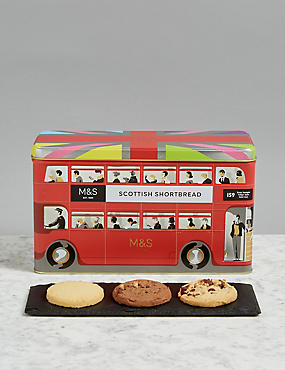 Shortbread Bus Biscuit Tin