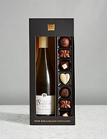 White Wine & Belgian Chocolates