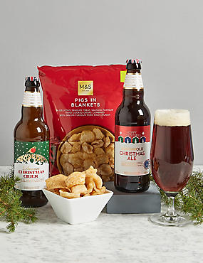 Christmas Cider and Ale Gift