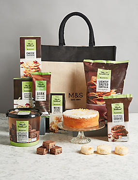Luxury hamper gifts food cheese chocolate hampers ms gluten free gift bag negle Images