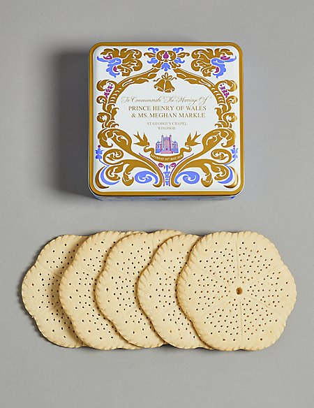 Royal Wedding Biscuit Tin