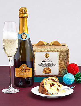 The Collection Prosecco & Panettone Gift