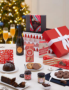Classic Christmas Gift Box with Fizz (Pre Order)