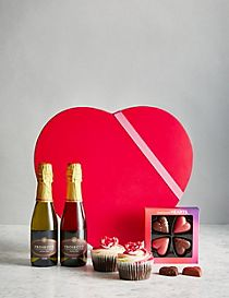 Valentine's Gift Box with Prosecco (Pre Order: Available from 10th February 2017)