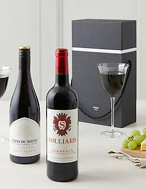 The Connoisseur's Choice Red Wine Gift Selection