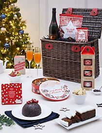 M&S Christmas Classic Hamper With Fizz