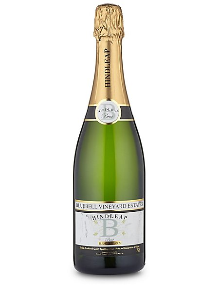 Bluebell Vineyard Estates Hindleap Blanc de Blancs - Single Bottle