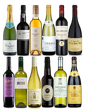 Wine for every course - Case of 12