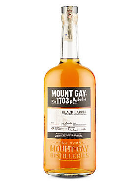 Black Barrel Golden Rum, Mount Gay – Single Bottle