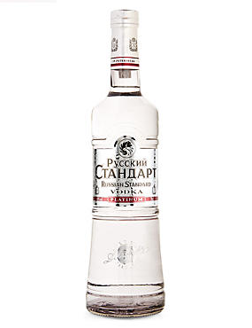 Russian Standard Platinum Vodka - Single Bottle