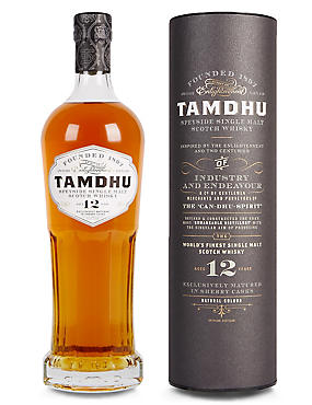 Tamdhu 12 Year Old Single Malt Scotch Whisky - Single Bottle