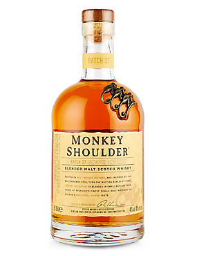 Monkey Shoulder Blended Scotch Whisky - Single Bottle