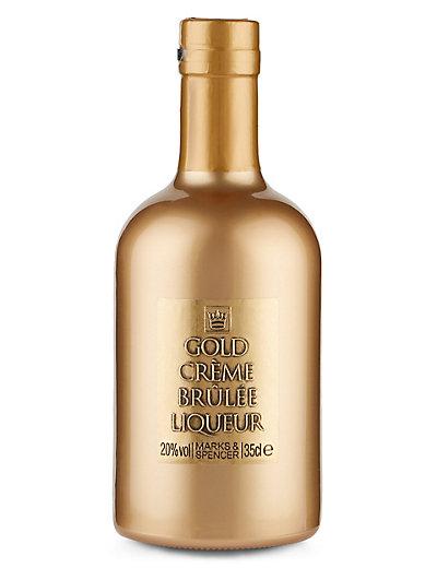 Gold Crème Brulee Liqueur