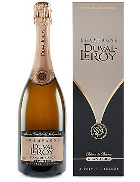 Duval Leroy Blanc de Blancs Grand Cru Champagne- Single Bottle