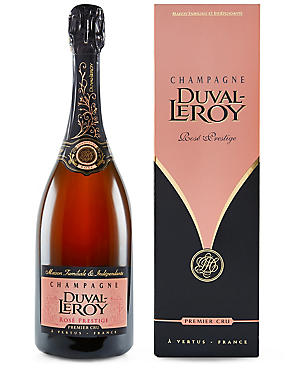Duval Leroy Rose Prestige Premier Cru Champagne- Single Bottle