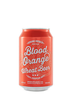 Blood Orange Wheat Beer - Cases of 20