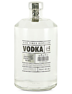 Five Time Distilled Extra Pure Vodka - Single Bottle