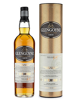 Glengoyne 14 Year Old Single Malt Whisky - Single Bottle Wine