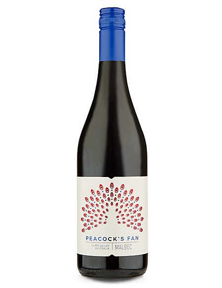 Peacock's Fan Clare Valley Malbec - Case of 6