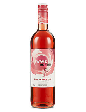 Wave Break Zinfandel Rosé - Case of 6