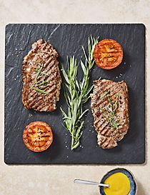 British Rose Veal Sirloin Steak - 2 Pieces