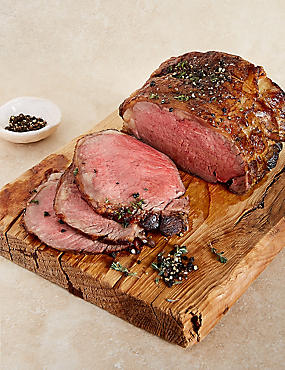 Speciality 28 Day Matured Sirloin Beef Joint (Serves 6-8)