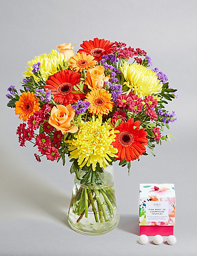 Flower Girl Baskets Toronto : Mother s day bright bouquet free chocolates worth ?
