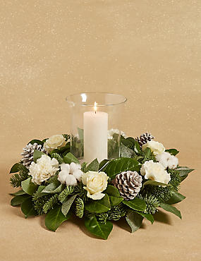 Storm Lantern Table Arrangement