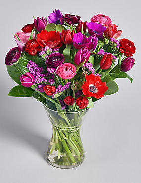 valentines spring bouquet pre order available from 10th february 2018 - Valentines Flowers Pictures