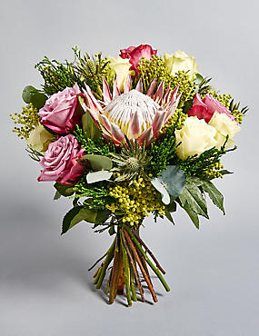 The Collection Luxury King Protea Bouquet