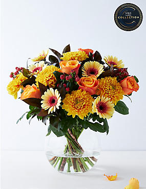 The Collection Autumn Fields Flower Bouquet