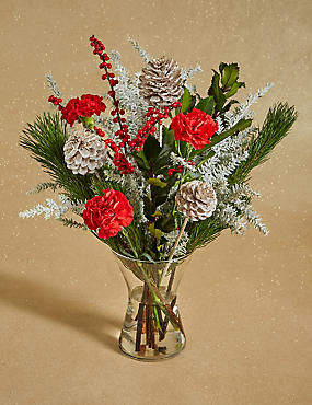 Essence of Christmas Flower Bouquet