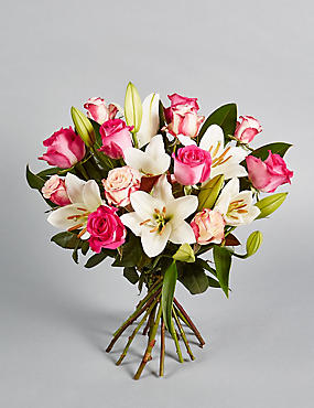 The Collection Rose & Lily Bouquet (Available until 2nd May)