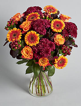 Autumn Flower Bouquet of the Season Large