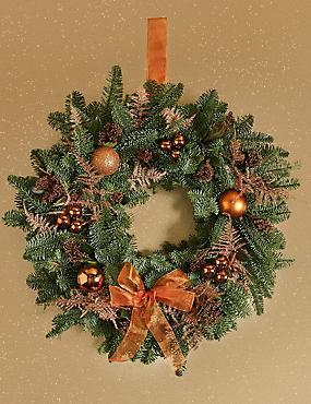 luxury christmas wreath pre order