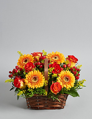Autumn Harvest Arrangement Flowers
