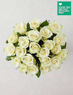Fairtrade® White Roses