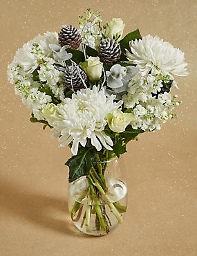 Winter Frost Flower Bouquet