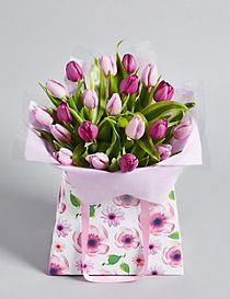 Mother's Day Tulip Gift Bag