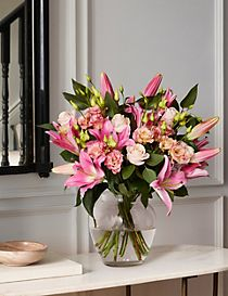 The Collection Lily & Lisiathus Bouquet