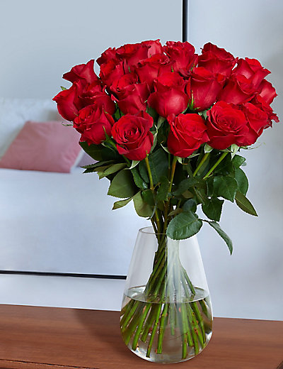Autograph Freedom Roses Bouquet (Two Dozen)