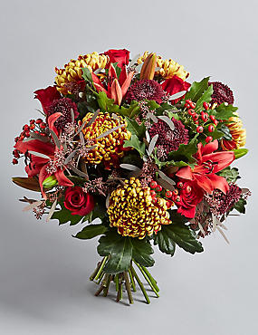 The Collection Majestic Bloom Flower Bouquet