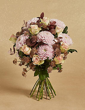 The Collection Pink Sky Flower Bouquet