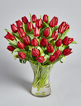 Valentine's Tulips (Pre Order: Available from 11th February 2017)